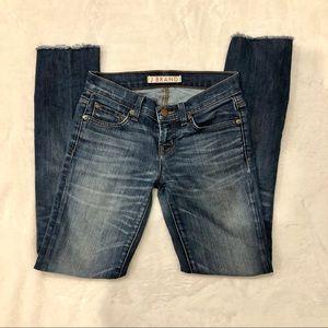 J Brand | Raw Hem Skinny Jeans Sz 24